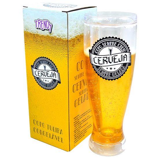 Copo Tulipa Imita Cerveja Trendy Beer 450ml