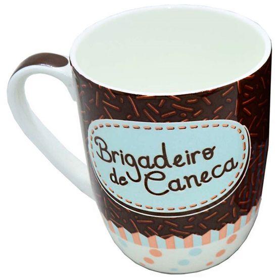 Caneca Porcelana Brigadeiro de Caneca 410ml