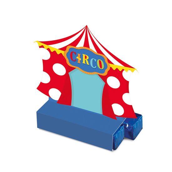 Caixa Bis Circo 2 - 7,5X3,5X8 Pt - 8 Unidades