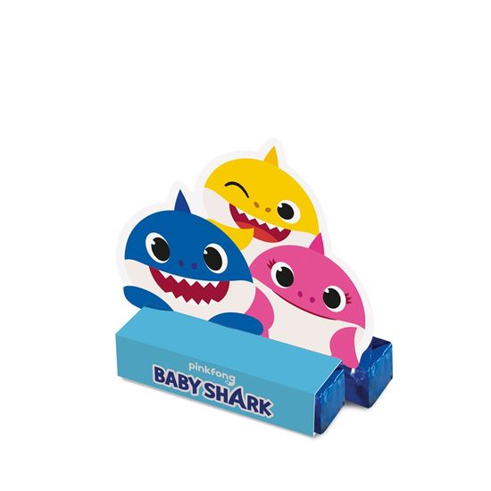 Caixa Bis Baby Shark 5,5X3,5X6 Pt - 8 Unidades