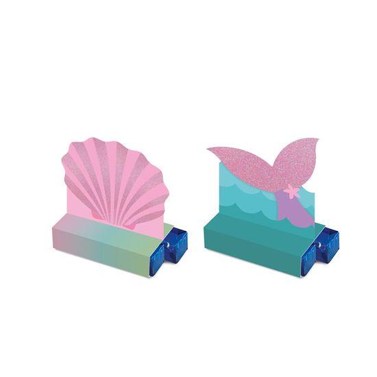 Caixa Bis Composse Sereia 5,5X3,5X8 Pt - 8 Unidades