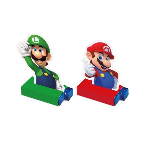 Caixa Bis Composse Super Mario 5,5X3,5X8,5 Pt - 8 Unidades