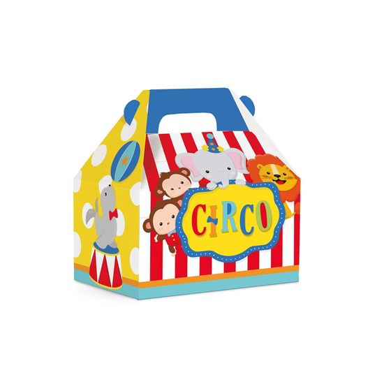 Caixa Maleta Kids Circo 2 - 12X8X12 Pt - 10 Unidades