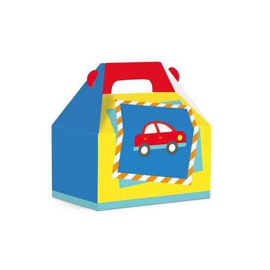 Caixa Maleta Kids Fabrica De Brinquedos 12X8X12 Pt - 10 Unidades