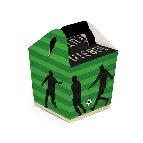 Caixa Sushi Futebol 6,5X6,5X7,5 Pt - 8 Unidades