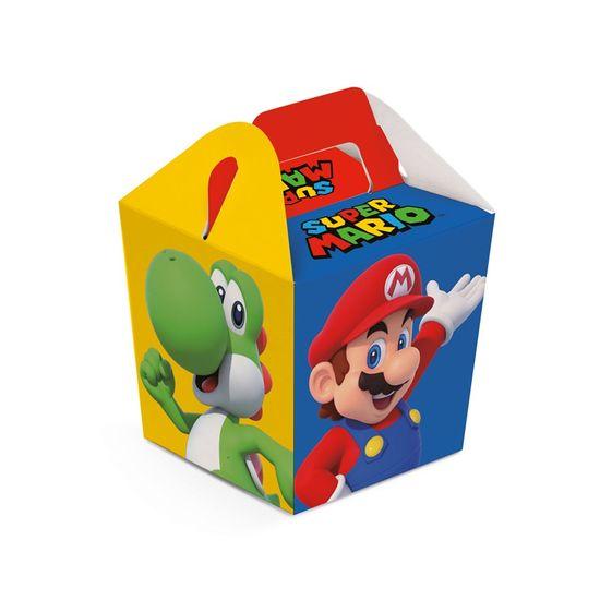 Caixa Sushi Super Mario 6,5X6,5X7,5 Pt - 8 Unidades