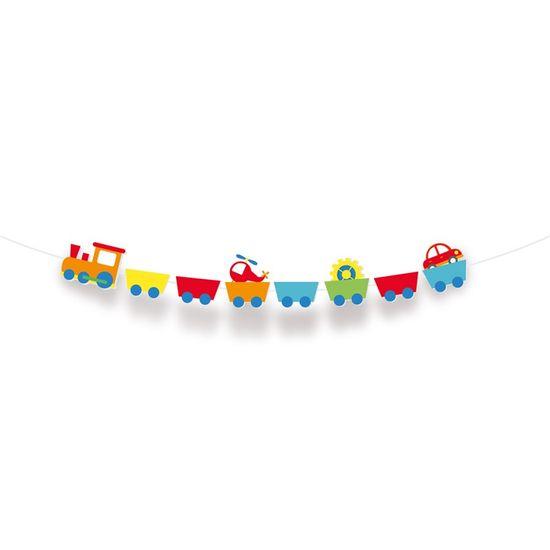 Faixa Decorativa Fabrica De Brinquedos