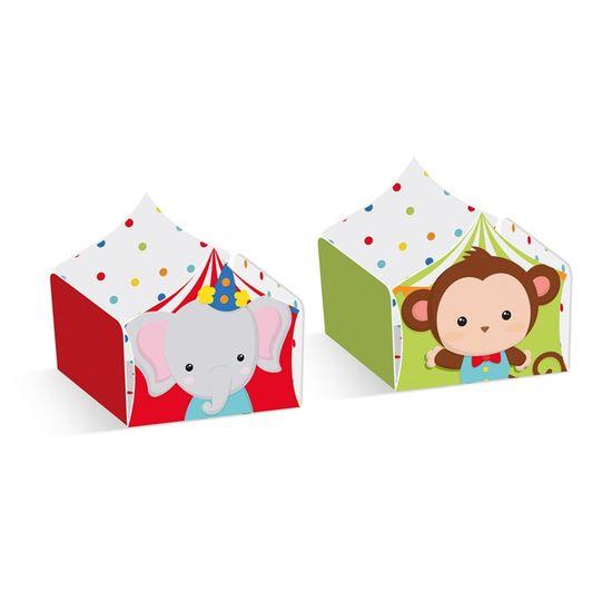Forminha Composse Macaco E Elefante Pt - 24 Un