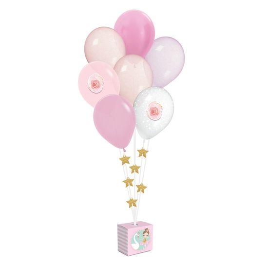 Kit Balões Para Decoração De Painel Bailarina 2 - 12X6X12
