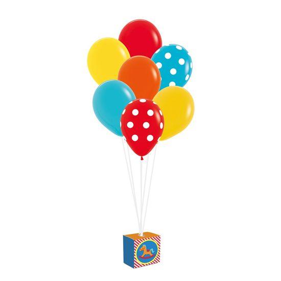 Kit Balões Para Decoração De Painel Fabrica Brinquedos