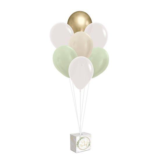 Kit Balões Para Decoração De Painel Oh Baby Boy