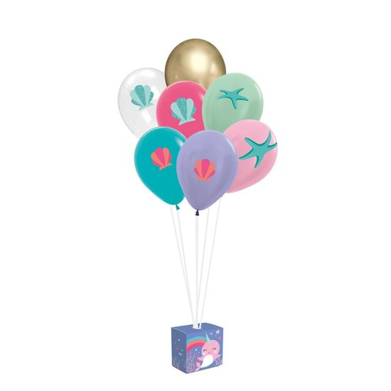Kit Balões Para Decoração De Painel Narval
