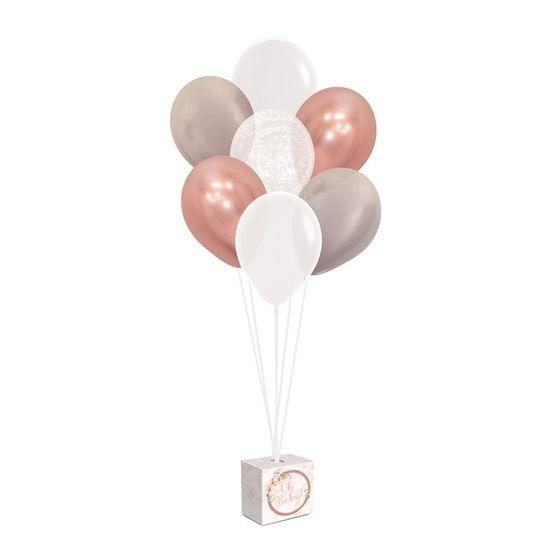 Kit Balões Para Decoração De Painel Oh Baby Girl