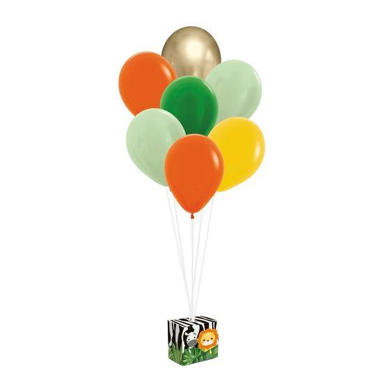 Kit Balões Para Decoração De Painel Safári 2 - 12X6X12