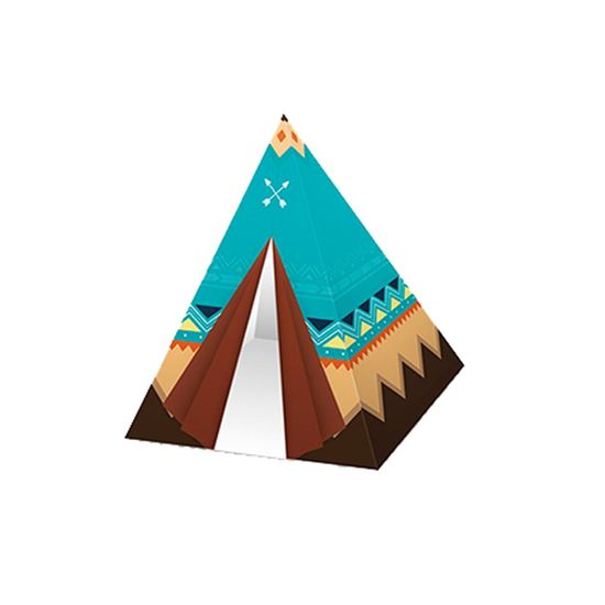 Festa Floresta - Caixa para Bala Cabana Animais da Floresta Be Brave - 6 Un
