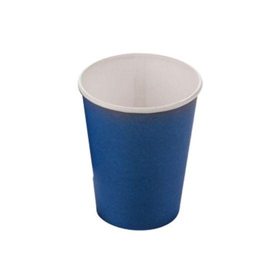 Copo Papel Liso Azul - 10 Unidades