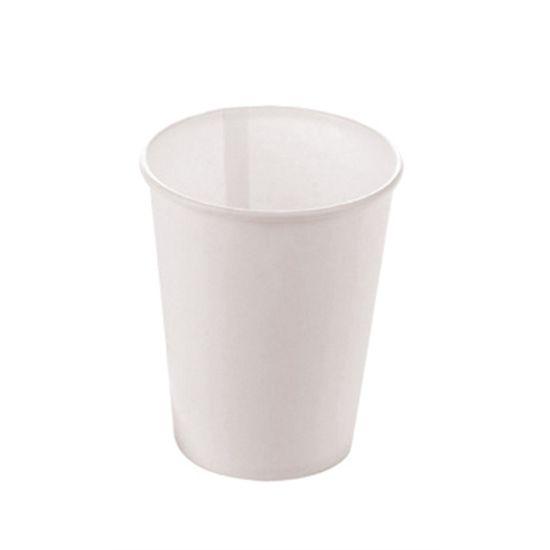 Copo Papel Liso Branco - 10 Un