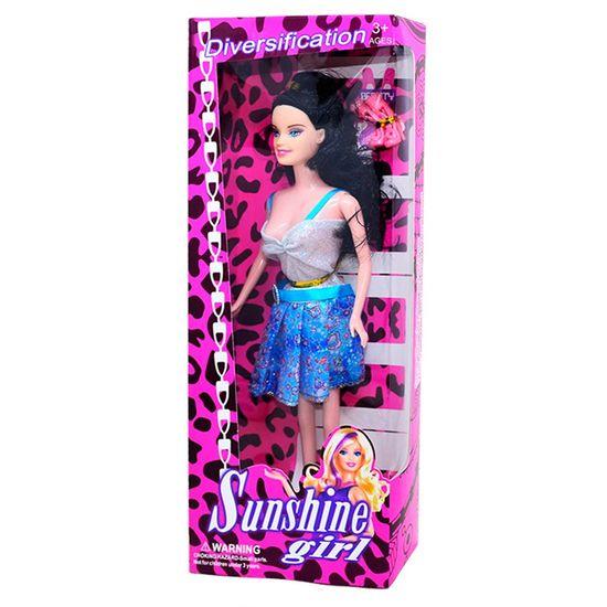 Lembrancinha Boneca Sunshine Girl Plástico