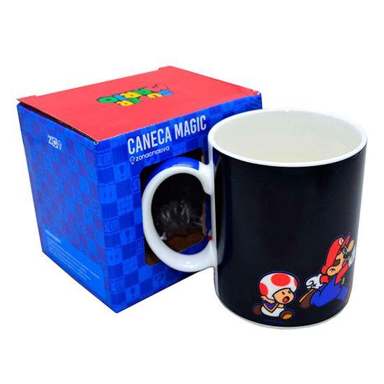 Caneca Porcelana Magic Mario  - 1 Unidade