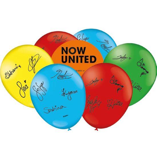 Festa Now United - Balão para Vareta Now United - 25 Un