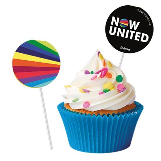 Festa Now United - Pick para Docinhos Now United - 08 Un