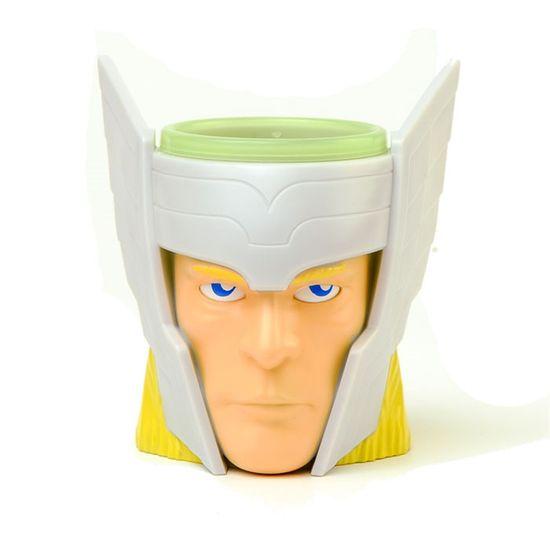 Kit Caneca 3D Thor com Cookies - 01 unidade