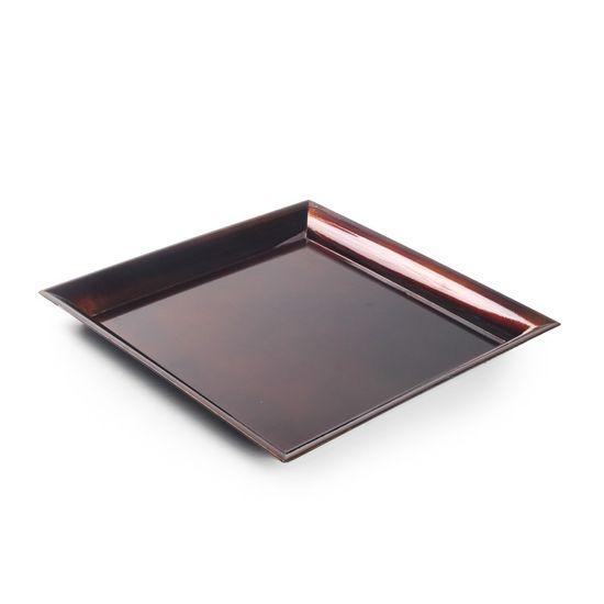 Base Plástica Quadrada Bronze G