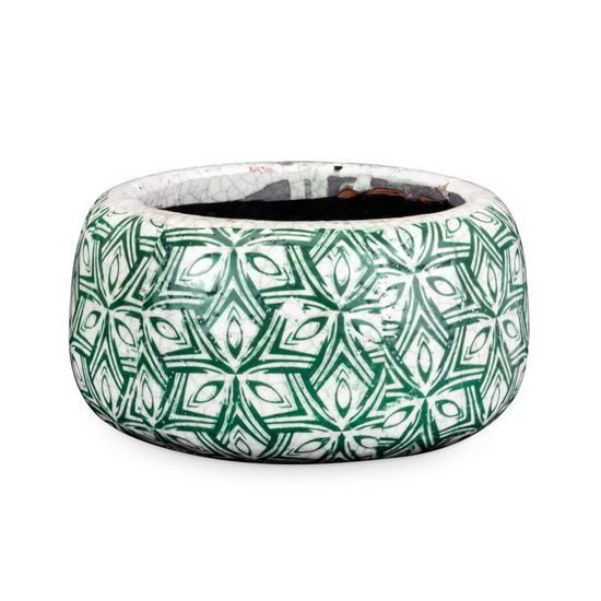 Vaso de Cerâmica com M