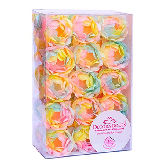 Forminhas para Doces Bela Tie Dye Candy - 30 Un