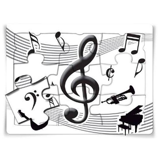FL - Quebra-cabeça Especial Notas Musicais