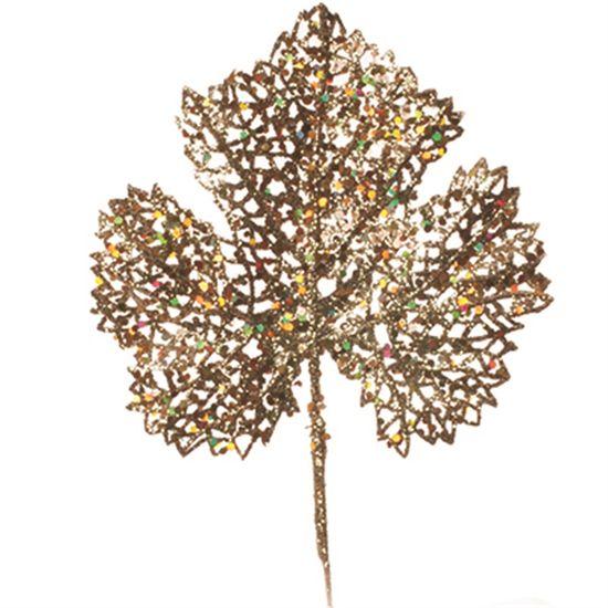 Galhos Curtos - Folha Ouro (25x15cm)