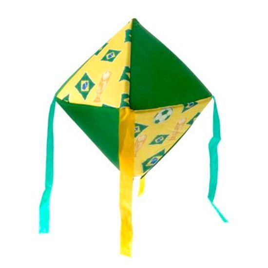 FL - Balão Nylon Decorativo PEQUENO Verde e Amarelo