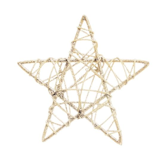 Estrela Rattan Nude 15cm (Rattan) - 1 Unidade
