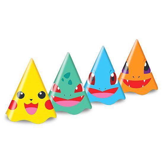 Chapéu de Aniversário Pocket Monsters - 08 Un