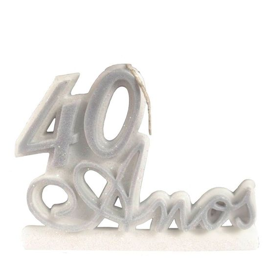 Vela 40 Anos Prata