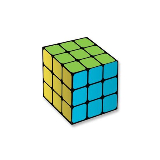Caixa Surpresa Cubo Mágico Neon - 8 Unidades