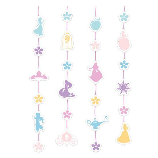 Festa Princesas Disney - Cortininha Jardim das Princesas - 21 Un