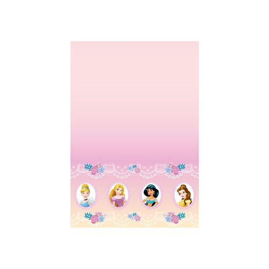 Festa Princesas Disney - Toalha de Papel 120x220cm Jardim das Princesas