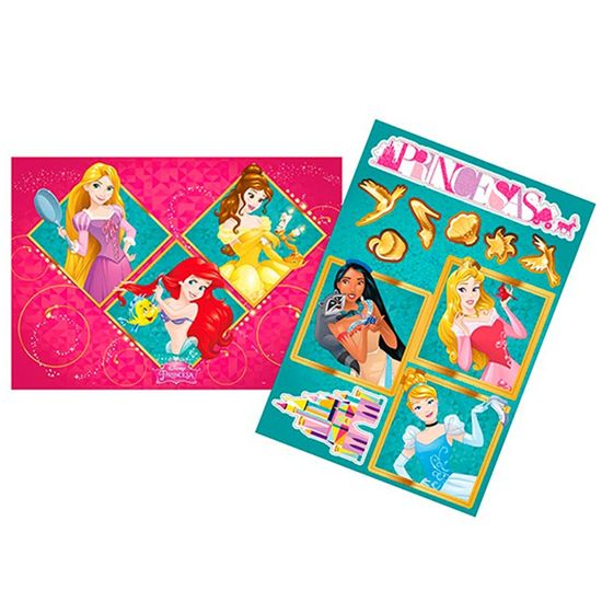 Festa Princesas Disney - Kit Decorativo Princesas Amigas