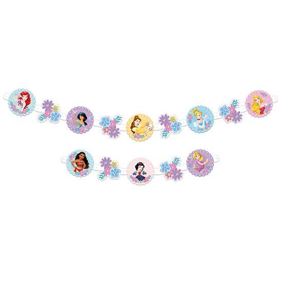 Festa Princesas Disney - Faixa Decorativa Jardim das Princesas