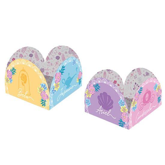 Festa Princesas Disney - Porta Forminha Jardim das Princesas - 50 Un