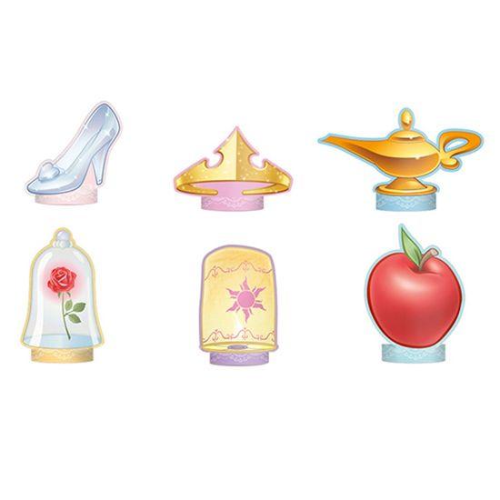 Festa Princesas Disney - Decoração de Mesa Jardim das Princesas - 6 Un