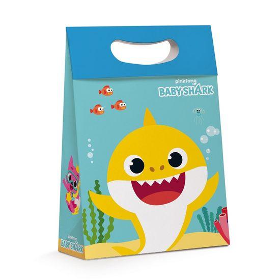 Caixa Plus Baby Shark P 18X7,5X25 com 1 Unidade