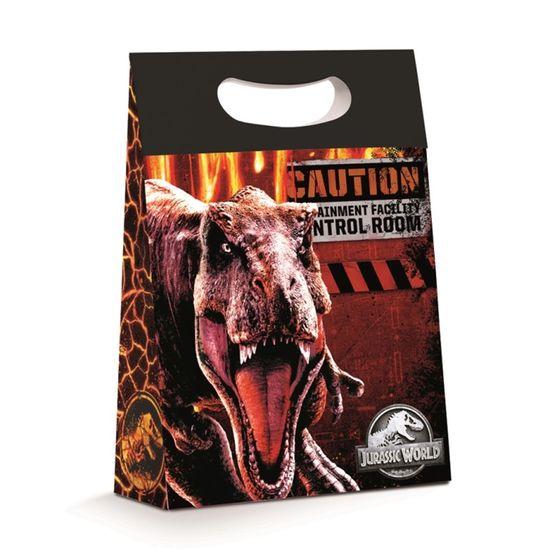 Caixa Plus Jurassic World P 18X7,5X25 com 1 Unidade