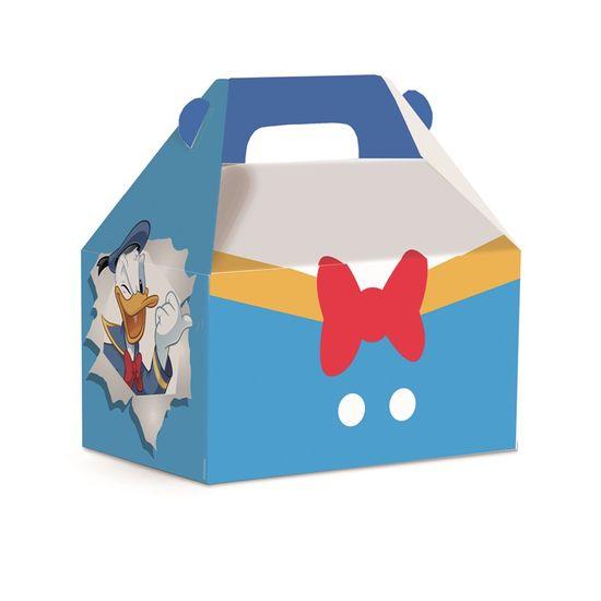 Caixa Maleta Kids Donald Flat M 12X8X12 - Pacote com 10 Unidades