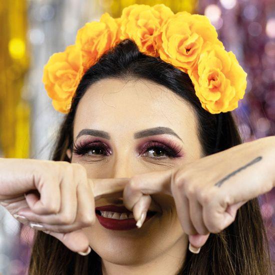 tiara-flores-laranja