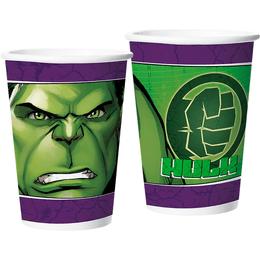 Copo-de-Papel-Festa--Hulk-180ml---12-Un