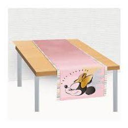 Trilho-de-Mesa-de-Tecido-40x200cm-Festa-Minnie-Fas