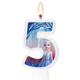 vela-festa-frozen-numero-5