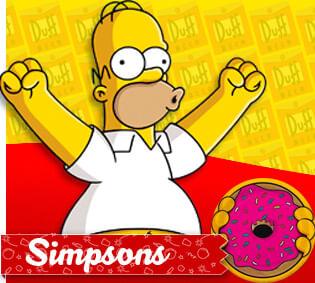 Tema Infantil Simpsons Cromus Festa